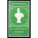 Bosman München Musikalien (Flöte - grün)