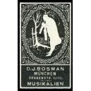 Bosman München Musikalien (Klarinette - schwarz)