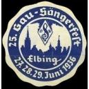 Elbing 1936 25. Gau - Sängerfest