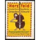Herzfeld ... Dresden Altmarkt Promenaden-Konzert ...
