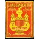 Hildesheim 1914 3. Gau Sängerfest ... (WK 01)