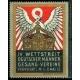 Frankfurt 1913 IV Wettstreit ... Gesang-Vereine (Krone)
