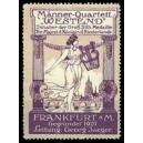 Frankfurt Männer-Quartett Westend ... (dunkellila)
