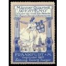 Frankfurt Mäner-Quartett Westend ... (hellblau)