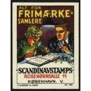 Scandinavstamps Kobenhavn Alt for Frimaerke Samlere