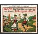 Koch Harmonikas ... Gebirgsländler