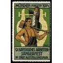 München 1914 9. Bayrisches Arbeiter-Sängerfest (WK 03)