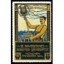 München 1914 IX. Bayrisches Arbeiter-Sängerfest (WK 04)