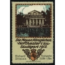 Stutgart 1912 Richard Strauss Festwoche ... (WK 01)