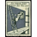 Unfallverhütung Eine schlechte Leiter kann dein Tod sein !