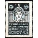 München Verband der Kunstgewerbe Zeichner ... (hellblau)