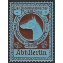 Berlin 1914 Der Dobermannpinscher Polizeihund ... (WK 01)
