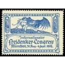 München 1912 Internationaler Freidenker-Congress (blau)