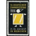 München 1956 13. Deutscher Zahnärztetag