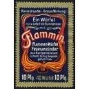 Flammin Flammen Würfel Feueranzünder ... (WK 01)