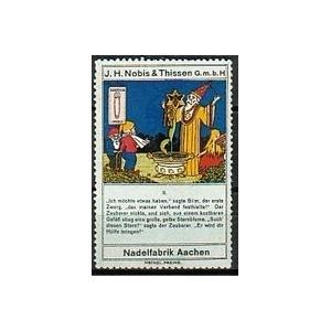 Nobis & Thissen Nadelfabrik Aachen II ... - poster-stamps ...