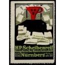Scheibenreif Graphische Kunstanstalt Nürnberg (WK 01 - Trichter)