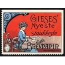 Gieses' nyeste smukkeste Brevpapir Samlermarke No. 02
