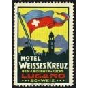 Lugano Schweiz, Hotel Weisses Kreuz ... (WK 01)