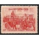 Metzeler Massiv-Reifen, Dampfspritze mit (rot)