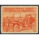 Metzeler Kaiser Franz Josef auf Metzeler Pneumatik (rot)