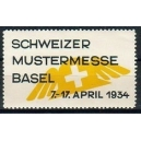 Basel 1934 Schweizer Mustermesse