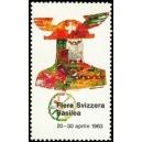 Basilea 1963 Feria Suiza de Muestras