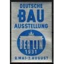 Berlin 1931 Deutsche Bau Ausstellung