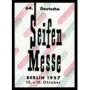 Berlin 1957 64. Deutsche Seifen Messe