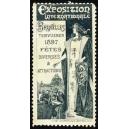 Bruxelles 1897 Exposition Internationale ... (graublau)