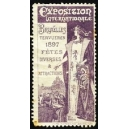 Bruxelles 1897 Exposition Internationale ... (violett)