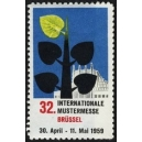 Brüssel 1959 32. Internationale Mustermesse