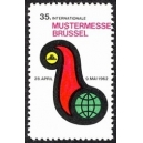 Brüssel 1962 35. Internationale Mustermesse