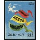 Budapest 1937 Internationale Messe ...(WK 01)