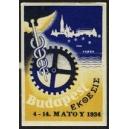 Budapest 1934 (griechisch - gelb)