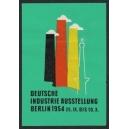 Berlin 1954 Deutsche Industrie Ausstellung