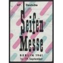 Berlin 1961 67. Deutsche Seifen Messe