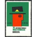 Brüssel 1963 36. Internationale Mustermesse (WK 01)