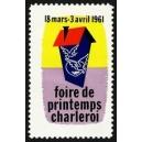 Charleroi 1961 Foire de Printemps