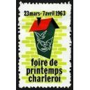 Charleroi 1963 Foire de Printemps