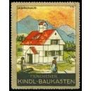 Münchener Kindl-Baukasten Gebirgshaus