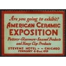 Chicago 1929 American Ceramic Exposition ... (WK 01)