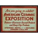 Chicago 1929 American Ceramic Exposition ... (WK 01)