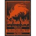 Dresden 1935 Der rote Hahn ...