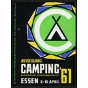 Essen 1961 Ausstellung Camping ...