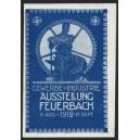 Feuerbach 1912 Gewerbe u. Industrie Ausstellung (blau)