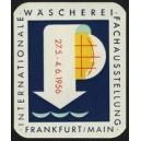 Frankfurt 1956 Internationale Wäscherei Fachausstellung