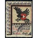 Genève 1896 Exposition Nationale Suisse (WK 01)