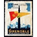 Grenoble 1949 Foire de la Houille Blanche ... (WK 01)
