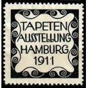 Hamburg 1911 Tapeten Ausstellung